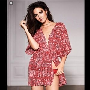 NWT VS Victoria's Secret kimono robe one size